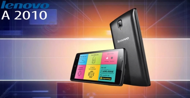 Lenovo A2010 Dual SIM z YouTube