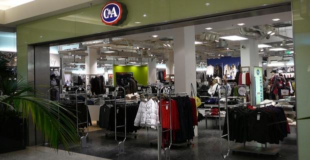 Obchod C&A - Brno, Vaňkovka - Prosinec 2016 - 621x320 pixelů