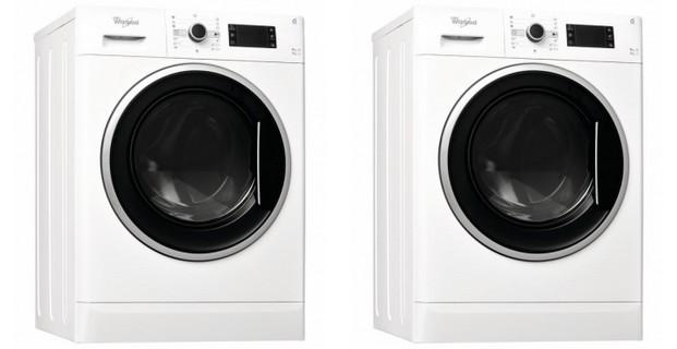 Dvě pračky a sušičky Whirlpool WWDC 9617 - 621x320 pixelů