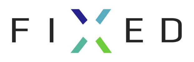 Logo powerbankové firmy Fixed - 621x200 pixelů