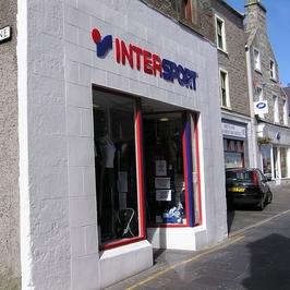 Oficiální autorizovaná prodejna InterSport s logem